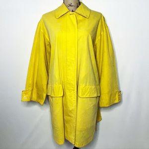 Burberry VTG Yellow Coat